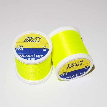 Hends Grall 0.08mm - Electric Yellow 210