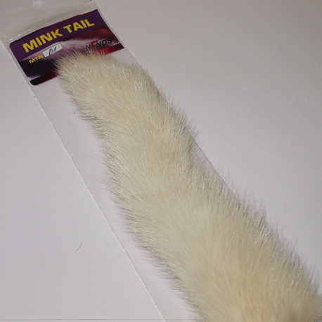 Mink Tail 01 White
