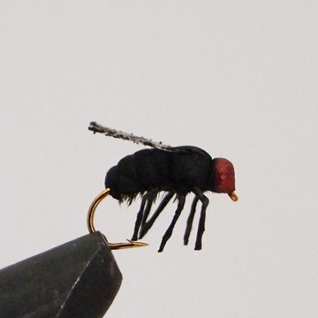 Realistic Black Foam Fly