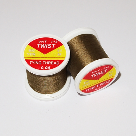 Hends Twist Threads / Olive Brown 113