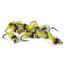 TC Caddis Pupa Yellow