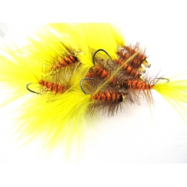 Wooly Bugger Yellow