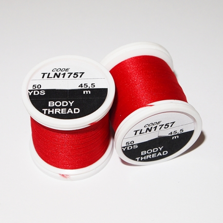 Hends Body Thread Red 1756
