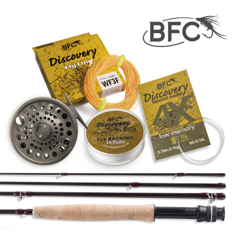 BFC Discovery HPS Fly Set 7.6ft 3wt