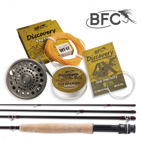 BFC Discovery HPS Fly Set 9ft 4wt