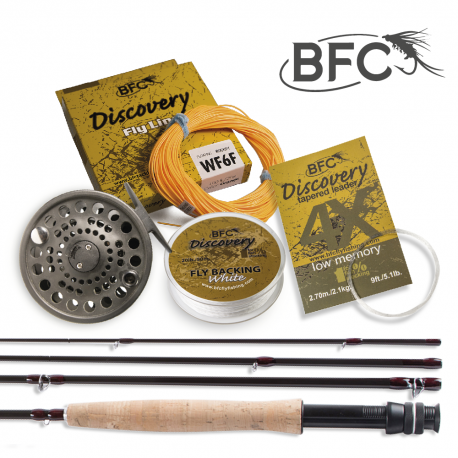 BFC Discovery HPS Fly Set 9ft 6wt