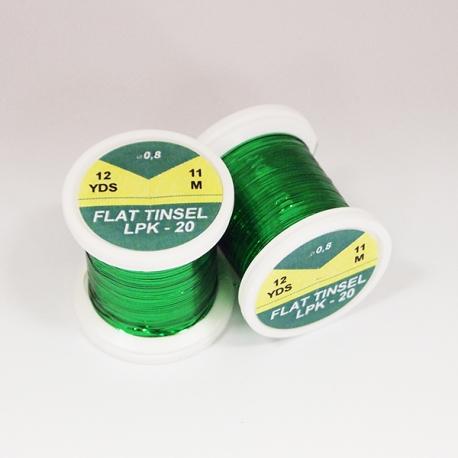 Hends Flat Tinsel / Green 20
