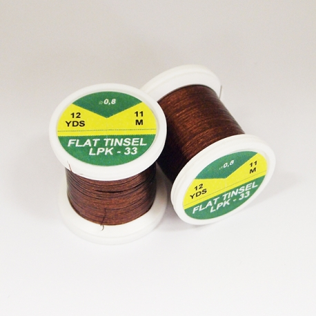 Hends Flat Tinsel / Brown 33