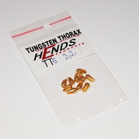 Heavy Tungsten Thorax 3.2mm / Gold