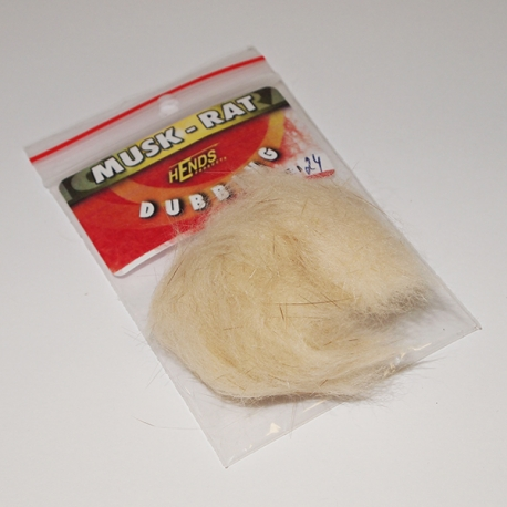 Hends Muskrat Dubbing 24 / Cream