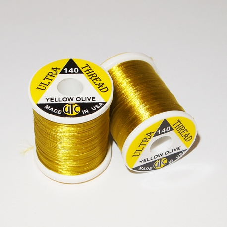 Wapsi Ultra Thread 140 / Yellow Olive