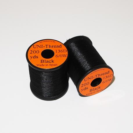 Uni Thread 6/0 Black