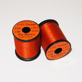 Uni Thread 6/0 Rusty Brown
