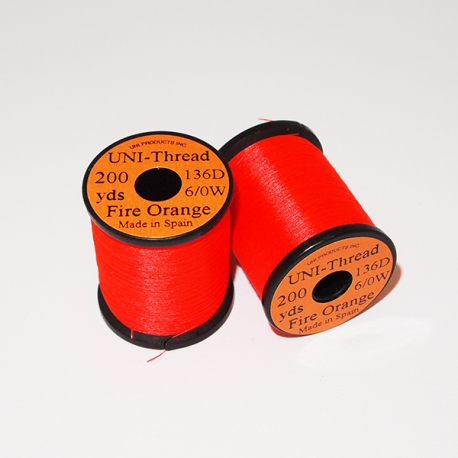 Uni Thread 6/0 Fire Orange