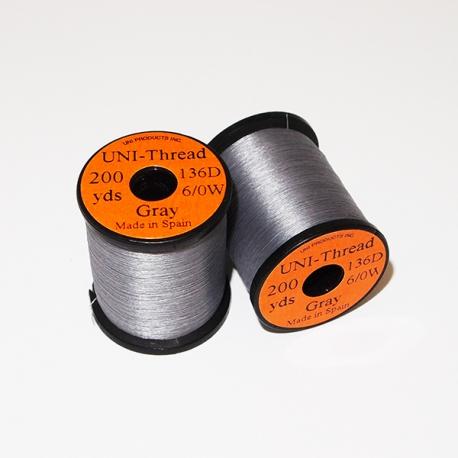 Uni Thread 6/0 Gray