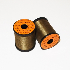 Uni Thread 6/0 Olive Dun