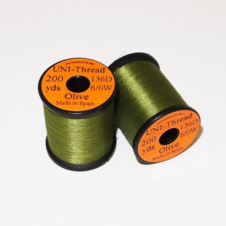 Uni Thread 6/0 Olive