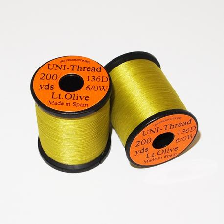 Uni Thread 6/0 Light Olive