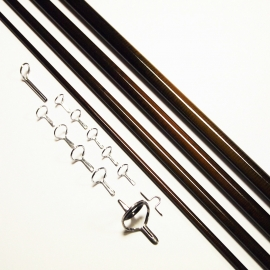 NEXTackle Advance 9ft 2wt 4pc Fly Rod Blank + Pac Bay Single Foot Guide Set