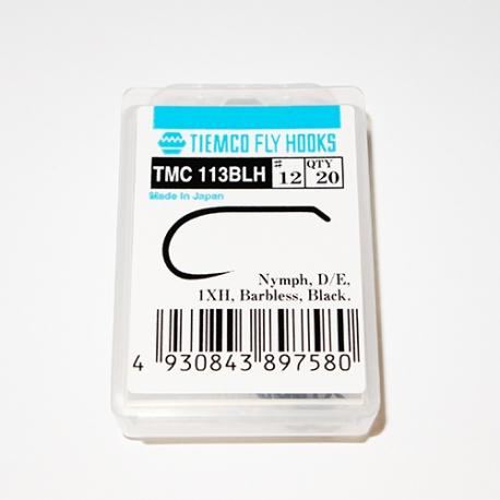 Tiemco 113 BLH Fly Hooks #12 / box 20pc