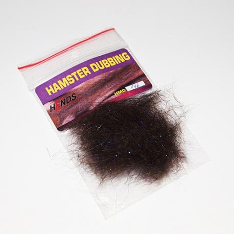 Hends Hamster Dubbing / Dark Brown Sparkle149