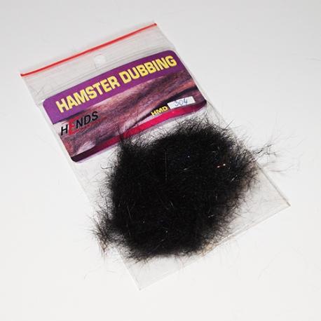 Hends Hamster Dubbing / Black Sparckle 304