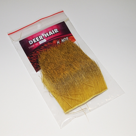 Hends Deer Hair / Yellow Olive 06