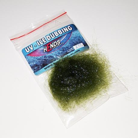 Hends UV-ICE Dubbing / Olive 232
