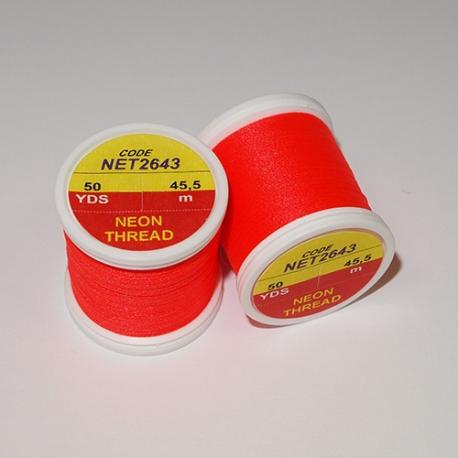 Hends Neon Thread 2643 Fluo Red