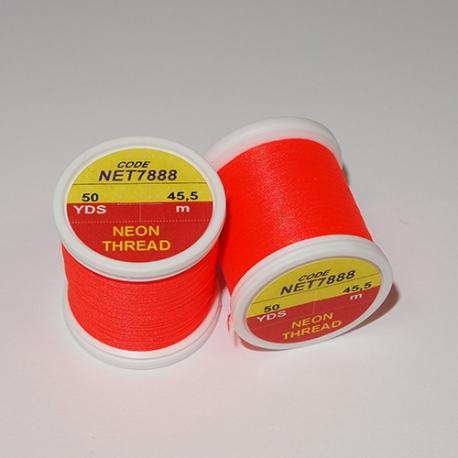 Hends Neon Thread 7888 Hot Fluo Red Orange