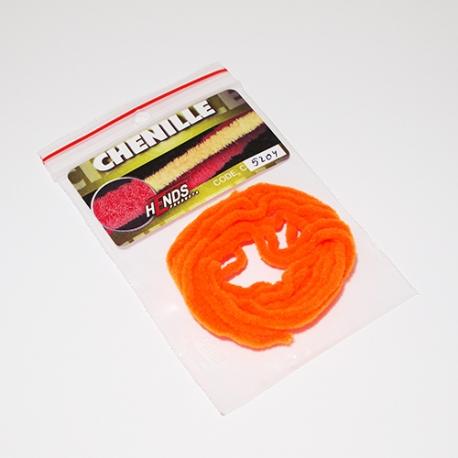 Hends Chenille 5mm / Orange Burned 5204