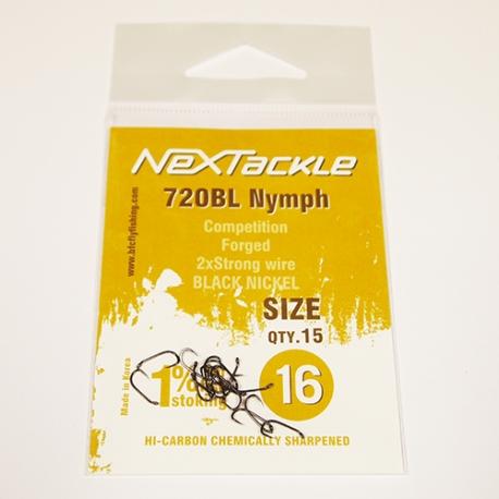 NEXTackle 720 BL Nymph Hooks size 16