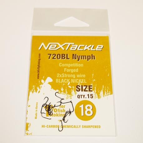 NEXTackle 720 BL Nymph Hooks size 18