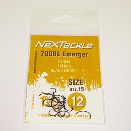 NEXTackle 700 BL Emerger Hooks size 12