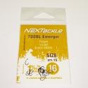 NEXTackle 700 BL Emerger Hooks size 16