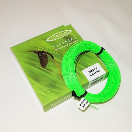 Vision Attack WF9F Fly Line