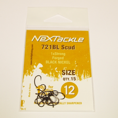 NEXTackle 721 BL Scud Hooks size 12