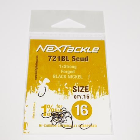 NEXTackle 721 BL Scud Hooks size 16