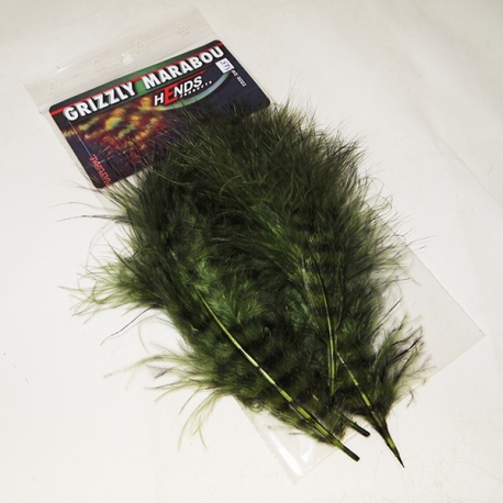 Hends Grizzly Marabou 325 Green