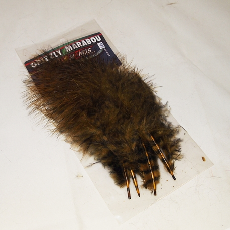 Hends Grizzly Marabou 326 Brown