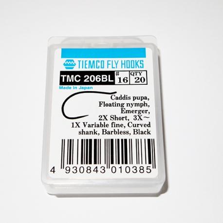 Tiemco 206 BL Fly Hooks Size 16