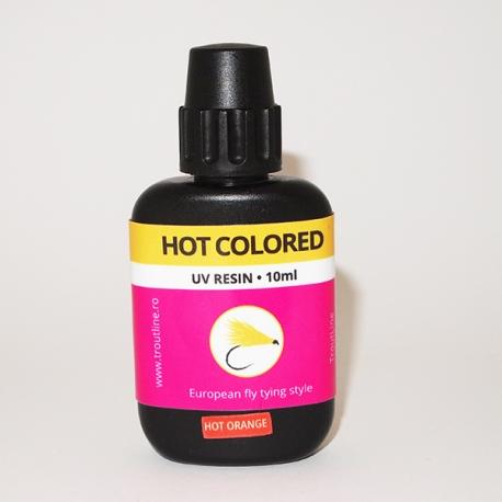 Trout Line Hot Colored UV Resin Orange