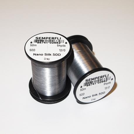 Semeperfli Nano Silk 50D 12/0 Thread / Gray