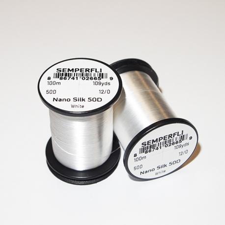 Semeperfli Nano Silk 50D 12/0 Thread / White