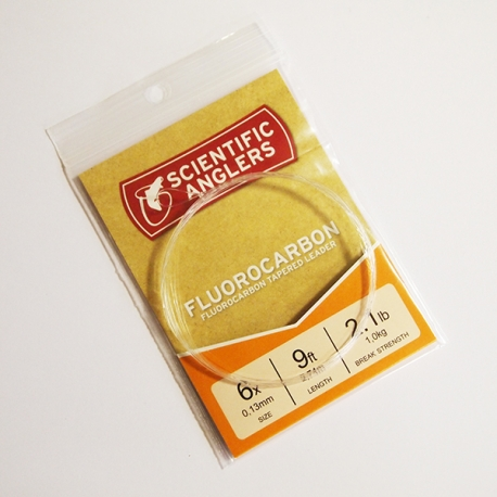 Scientific Anglers Fluorocarbon Leader 9ft 6X