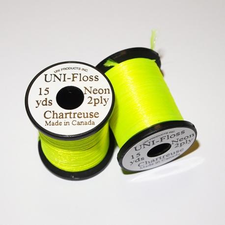 Uni Neon Floss Chartreuse