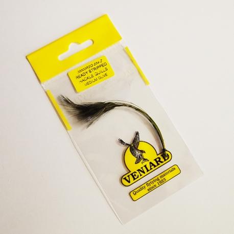 Vniard Ready Stripped Quill Medium Olive