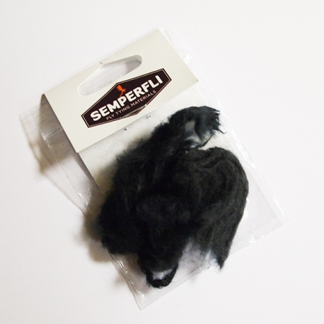 Semperfli Kapok Dubbing Black
