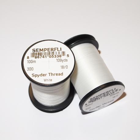 Semperfli 18/0 Spyder Thread Бял