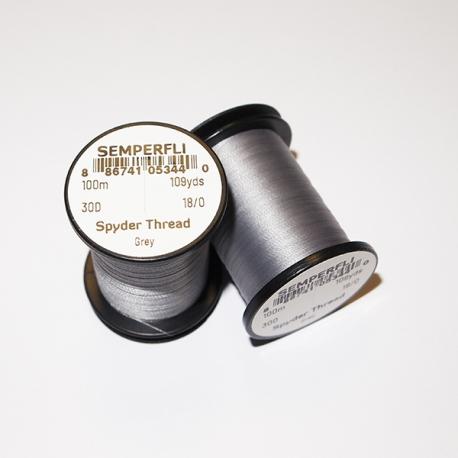 Semperfli 18/0 Spyder Thread Grey